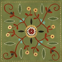 Festive Tiles IV Fine Art Print