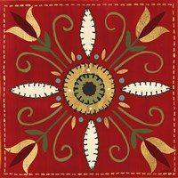 Festive Tiles I Fine Art Print
