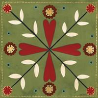 Festive Tiles II Fine Art Print