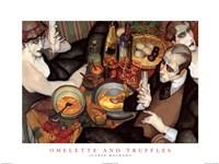 Omelette and Truffles Fine Art Print