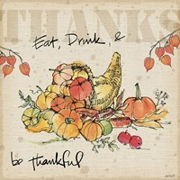 Be Thankful III Fine Art Print