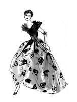 Fifties Fashion II Fine Art Print