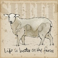 Farm Life IV Fine Art Print