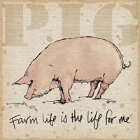 Farm Life II Fine Art Print