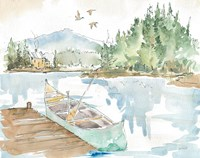 Lakehouse I Fine Art Print