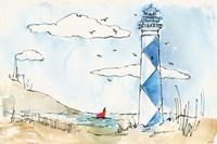 Coastal Life VIII Fine Art Print