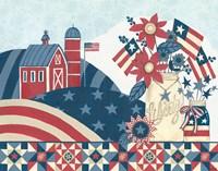 American Country I Fine Art Print