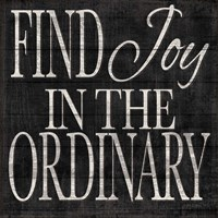 Kindness and Joy Signs II Framed Print