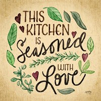 Kitchen Memories I (Kitchen seasoned) Fine Art Print