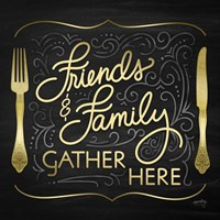 Gather Here I (Friends Family) Fine Art Print