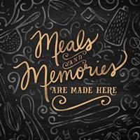Gather Here II (Meal Memories) Fine Art Print