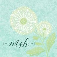 Dandelion Wishes III Fine Art Print