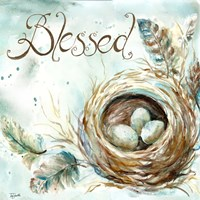 Nest Blessed Fine Art Print