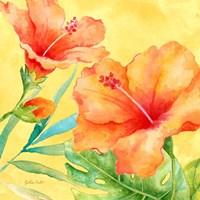 Tropical Paradise Brights II Fine Art Print