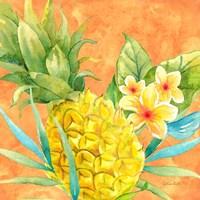 Tropical Paradise Brights III Fine Art Print