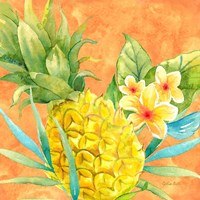 Tropical Paradise Brights III Fine Art Print