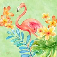 Tropical Paradise Brights IV Fine Art Print