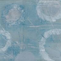 Champagne Burst Blue/Gray Fine Art Print