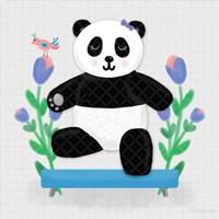 Tumbling Pandas I Fine Art Print