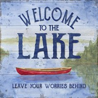 Lake Living III (welcome lake) Fine Art Print