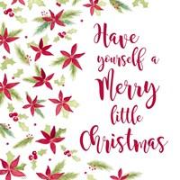 Be Joyful Merry Little Christmas Fine Art Print