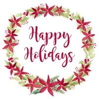 Be Joyful Happy Holidays Fine Art Print