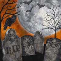 Something Wicked Graveyard II RIP Fine Art Print