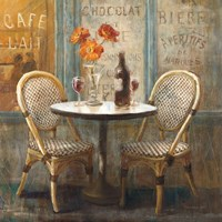Meet Me at Le Cafe I Fine Art Print
