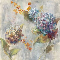 Autumn Hydrangea II Fine Art Print
