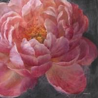 Vivid Floral I Crop Framed Print