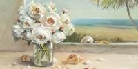 Coastal Roses Crop Fine Art Print