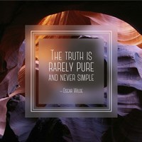 The Truth is Rarely Pure - Canyon Fine Art Print