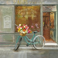 French Flowershop v2 Fine Art Print