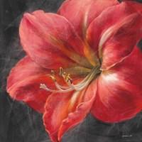 Vivid Floral III Crop Framed Print
