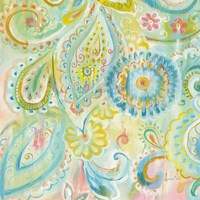 Spring Dream Paisley XII Fine Art Print