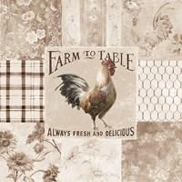 Farm Nostalgia I Neutral Fine Art Print