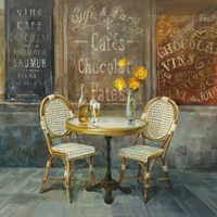 French Cafe Fine Art Print