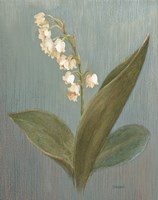 May Lily of the Valley Green Fine Art Print
