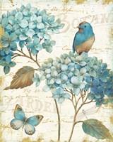 Blue Garden III Fine Art Print