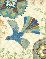 Eastern Tales Bird III Fine Art Print