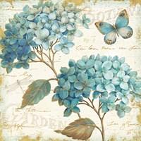 Blue Garden V Fine Art Print