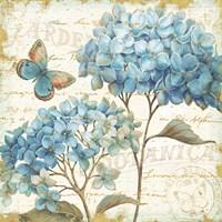 Blue Garden IV Fine Art Print