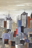 New York Skyline III Fine Art Print