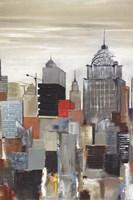 New York Skyline II Fine Art Print
