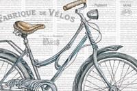 Bicycles III Framed Print