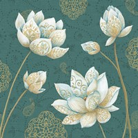 Lotus Dream IVB Fine Art Print