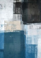 Abstract Blue II Fine Art Print