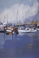 Along The Quay Fine Art Print