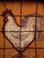 Spotted Rooster Fine Art Print