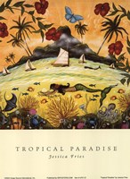 Tropical Paradise Fine Art Print